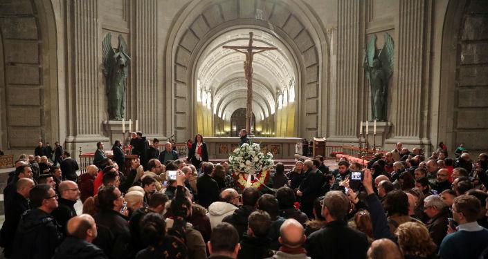 La tumba de Frasisco Franco