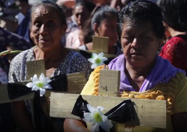 Guatemala rinde homenaje a las víctimas de la erupción del volcán de Fuego