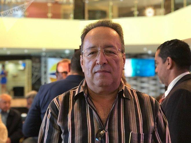 Francisco Meliá, presidente de la Cámara de Comercio e Industria de Paraguaná