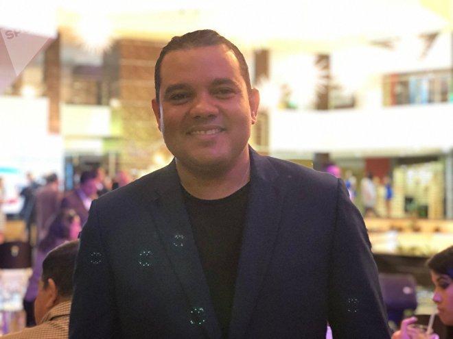 Víctor Clark, gobernador del Estado Falcón, en Venezuela