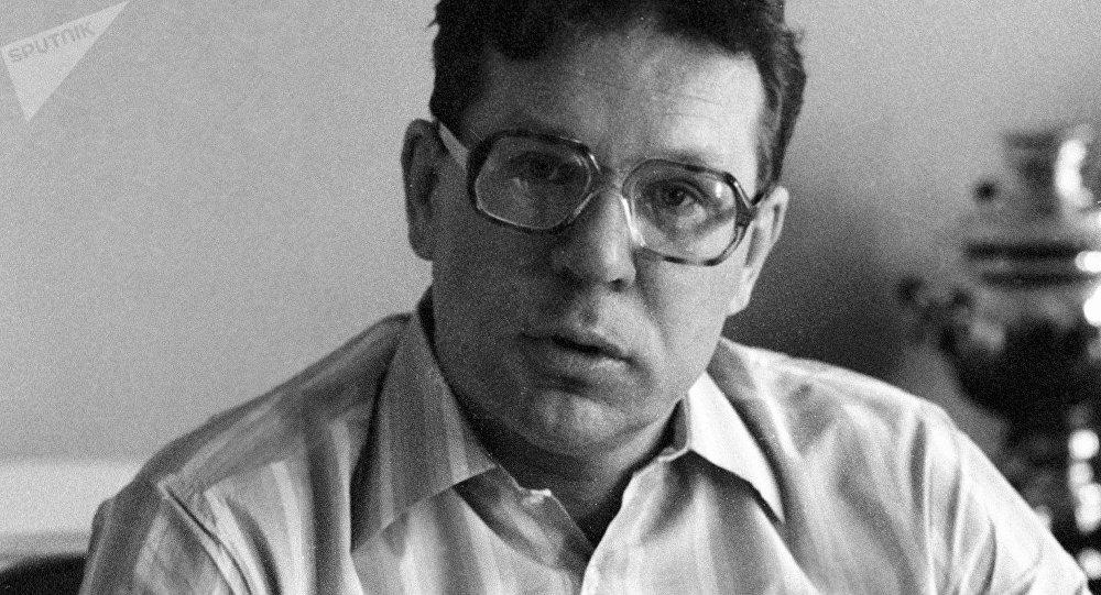 Valeri Legásov, científico ruso (archivo)