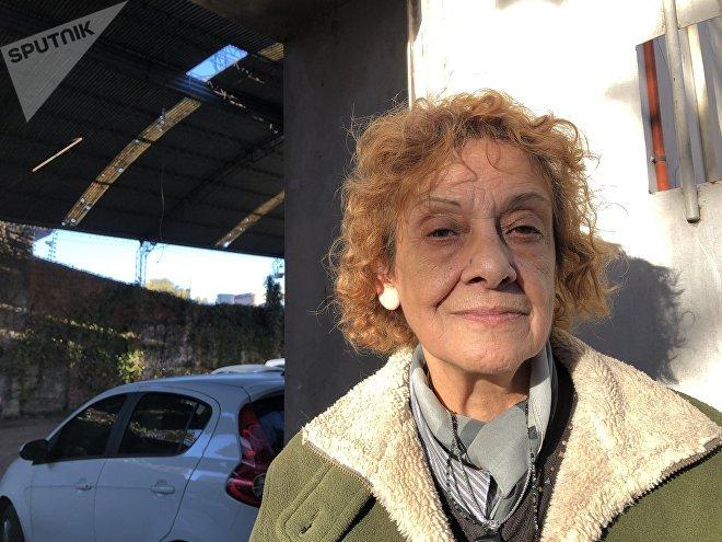 Alicia Perez, trabajadora de la Cooperativa Unidos por el Calzado
