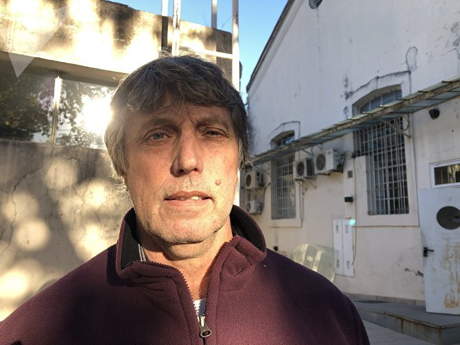 Carlos Moyano, extrabajador de Sportech