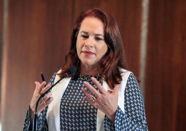 La excanciller ecuatoriana María Fernanda Espinosa