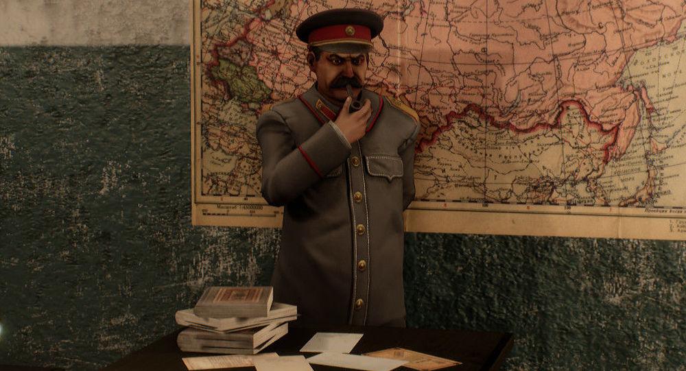 Captura de pantalla del videojuego 'Sex with Stalin'