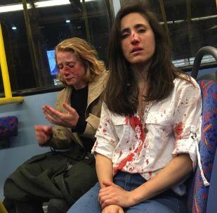Las víctimas del ataque