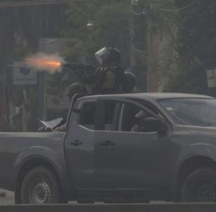 Protestas en Puerto Príncipe, Haití
