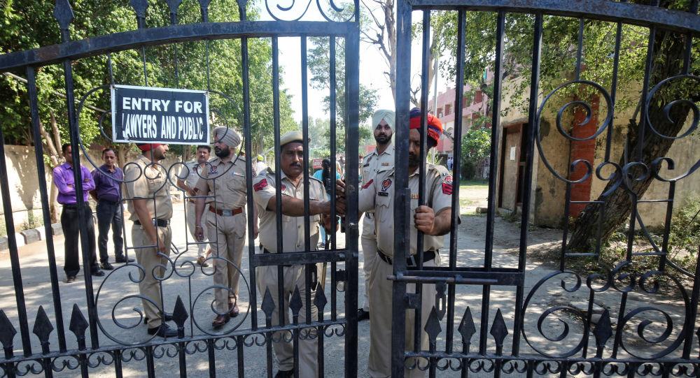 La Polícia india cerca de la corte en Pathankot antes del veredicto