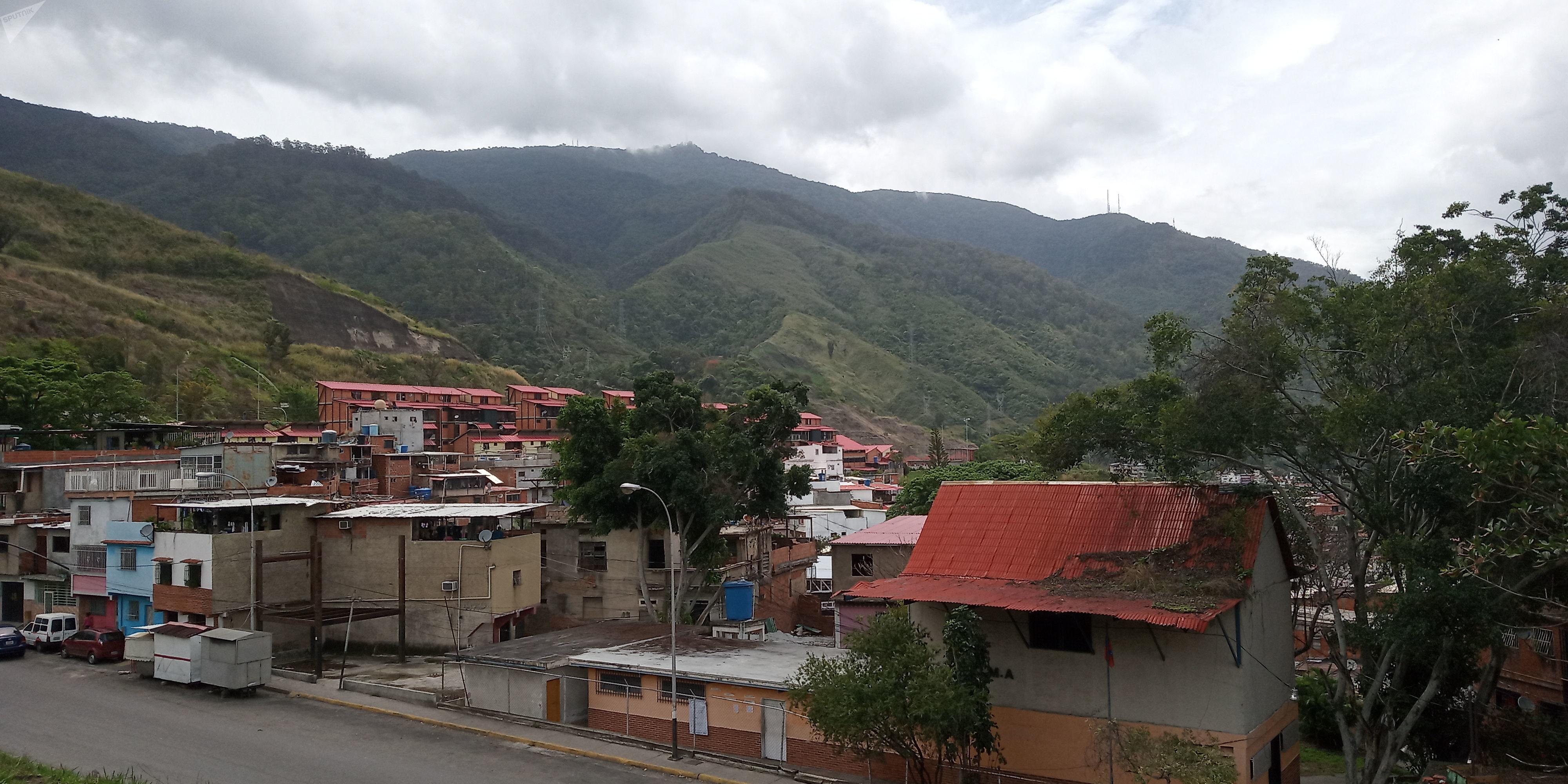 El Ávila, la montaña que rodea a Caracas y la separa del mar Caribe: en las inmediaciones de su Cota Mil se llevan a cabo algunas fechas de los juegos comunales