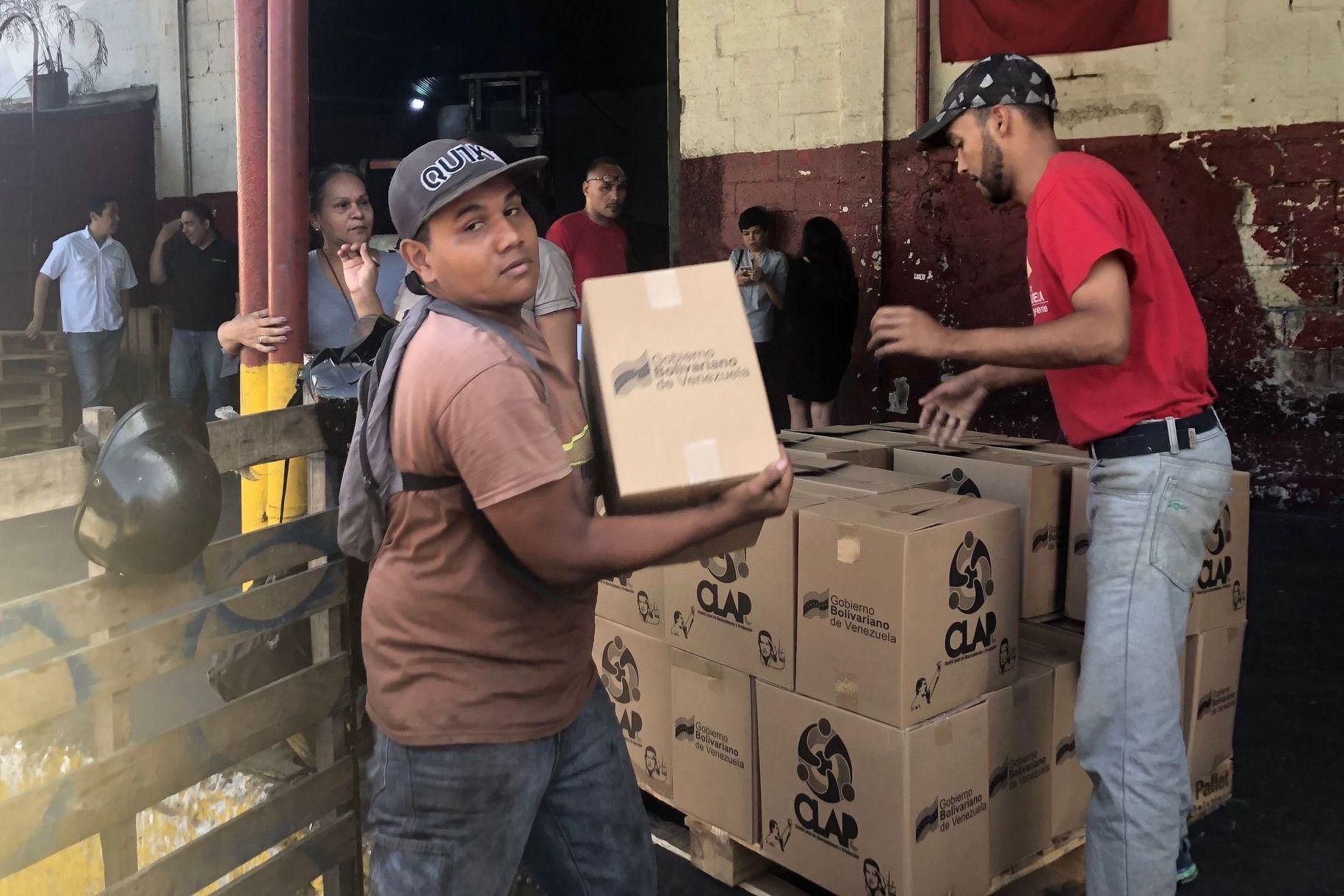 Antes del recrudecimiento de las sanciones económicas a Venezuela, la caja se entregaba en una media de 17 días; en condiciones actuales, los comités logran hacerlo con frecuencia mensual