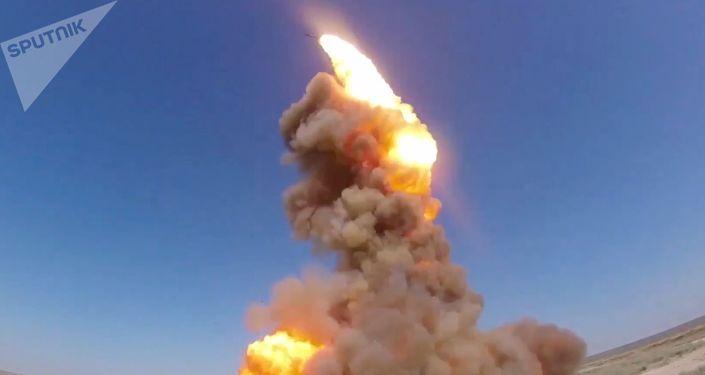 Lanzamiento de un interceptor de misiles modermizado ruso