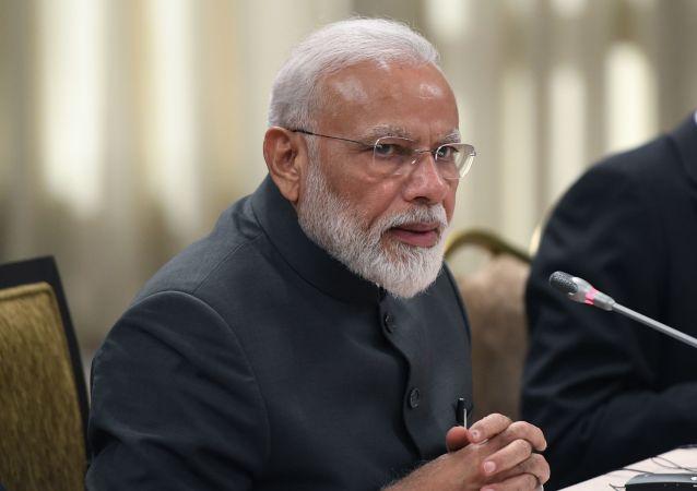 Narendra Modi, primer ministro de la India