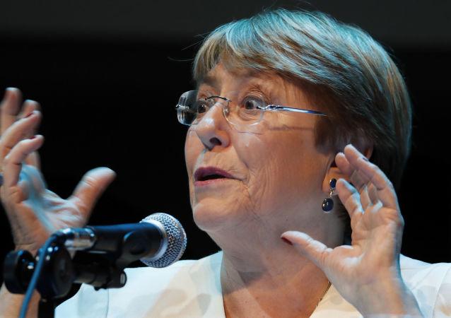 La Alta Comisionada de las Naciones Unidas para los Derechos Humanos, Michelle Bachelet