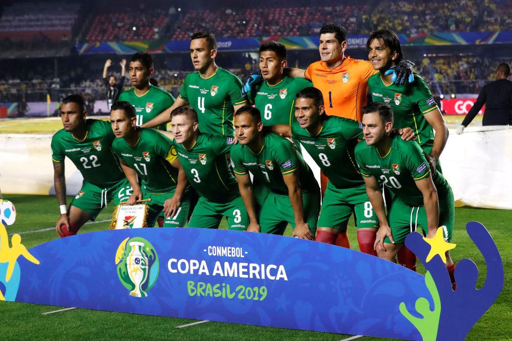 Jugadores de la selección de fútbol de Bolivia
