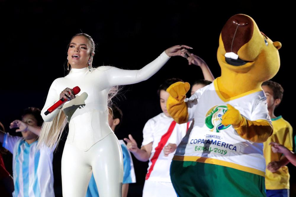La cantante colombiana Karol G