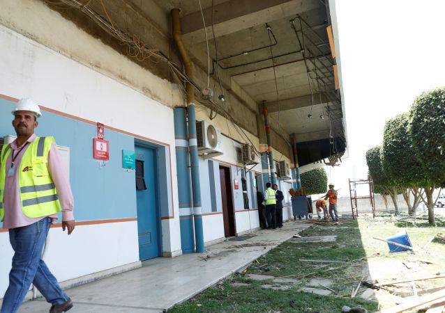 Coscecuencias de los ataque que los rebeldes hutíes contra el aeropuerto de Abha, Arabia Saudí