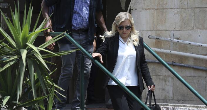 Sara Netanyahu, esposa del primera ministro de Israel, Benjamin Netanyahu