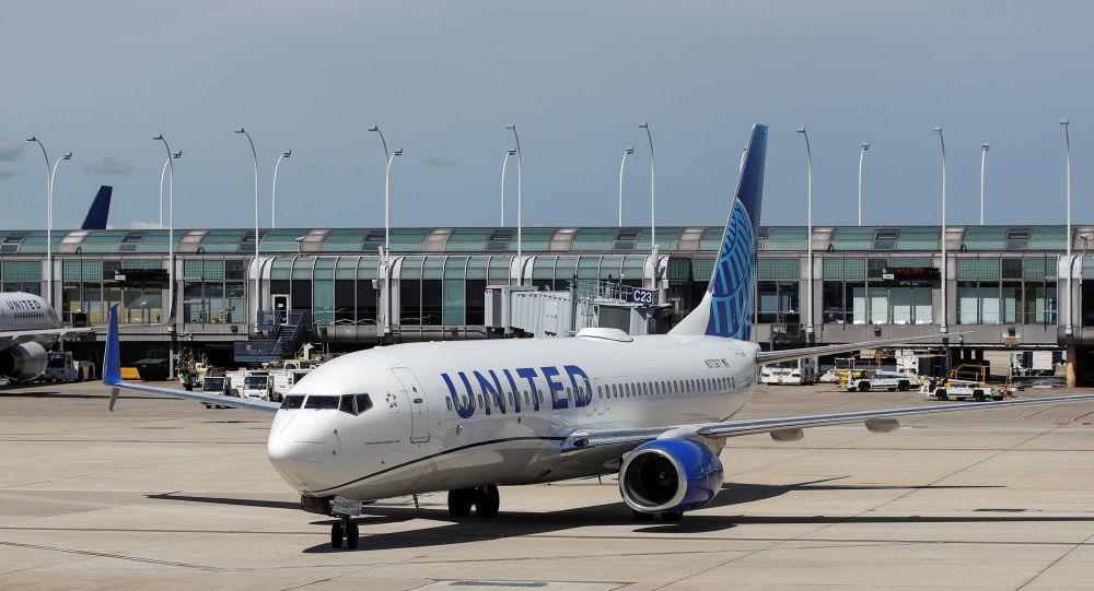 Un avión de United Airlines