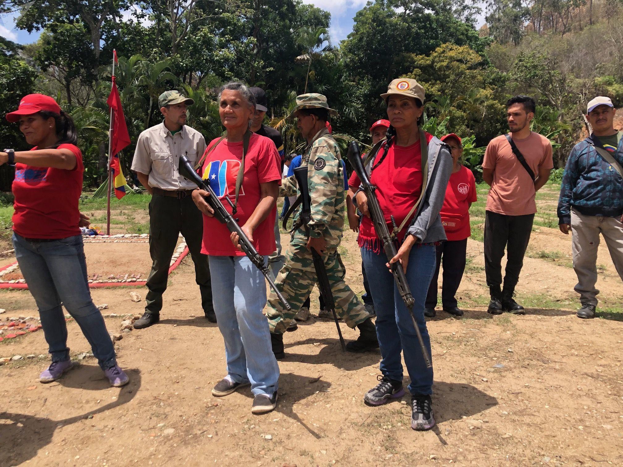 Hay un pueblo humilde, una masa poderosa, chavista y leal a 20 años de Revolución bolivariana, capaz de dejarlo todo en caso de una intervención extranjera