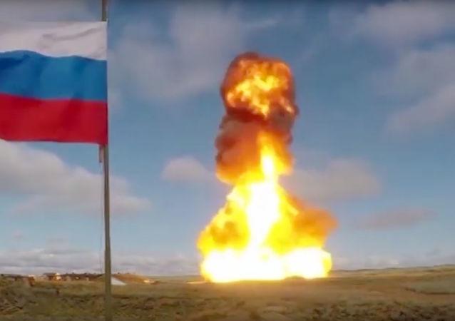 El lanzamiento de un misil antiaéreo