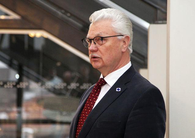 El exalcalde de Riga Dainis Turlais