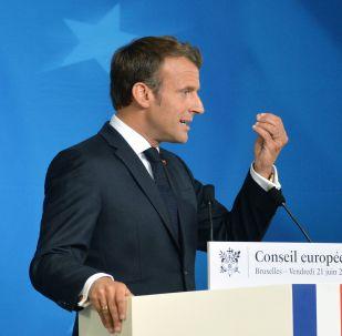 Emmanuel Macron, presidente de Francia