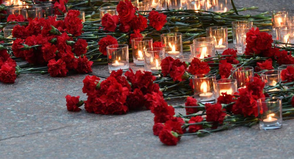 Homenaje a los soldados soviéticos caídos en la Gran Guerra Patria (archivo)
