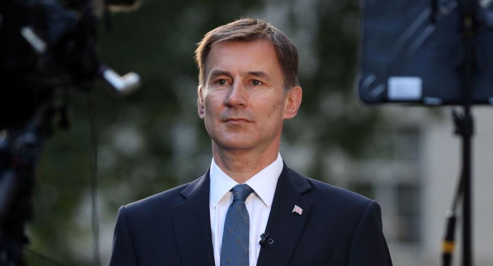 Jeremy Hunt, canciller del Reino Unido