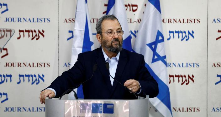 Ehud Barak, ex primer ministro laborista israelí