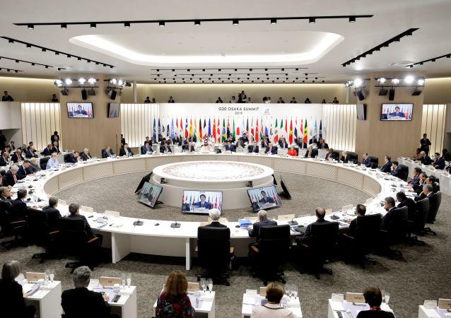 La cumbre G20 en Osaka, Japón