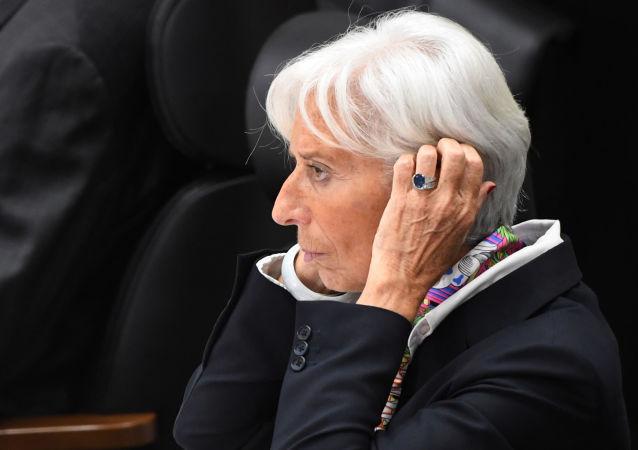 Christine Lagarde, la directora gerente del Fondo Monetario Internacional (FMI) (archivo)