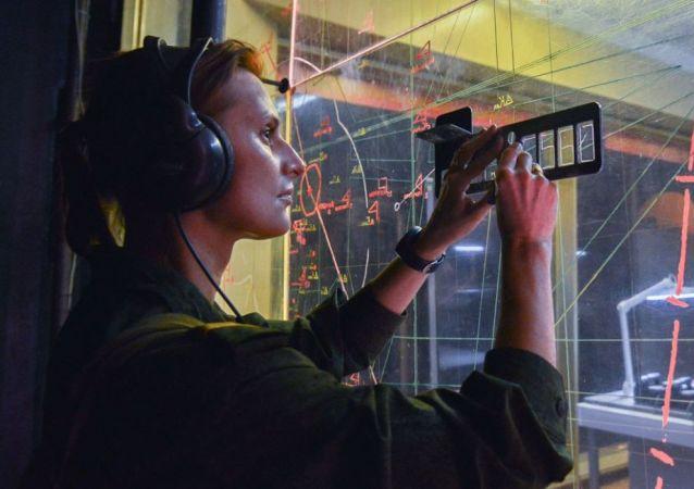 Operadora de radar (archivo)