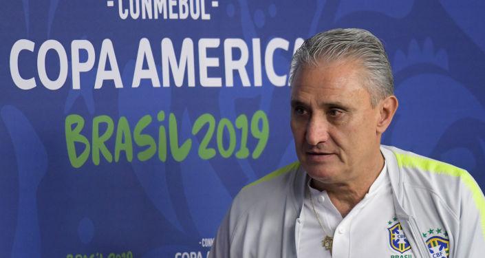 Tite, técnico de la selección Brasil