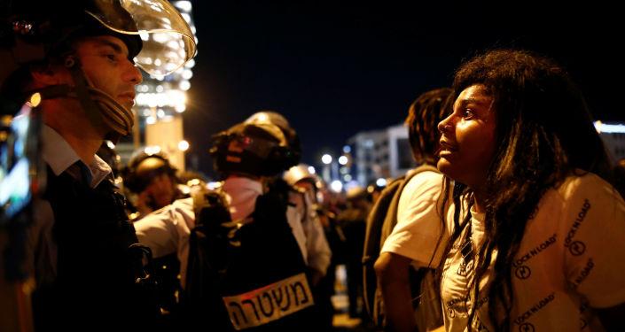 Protestas por la muerte de un joven etíope en Israel
