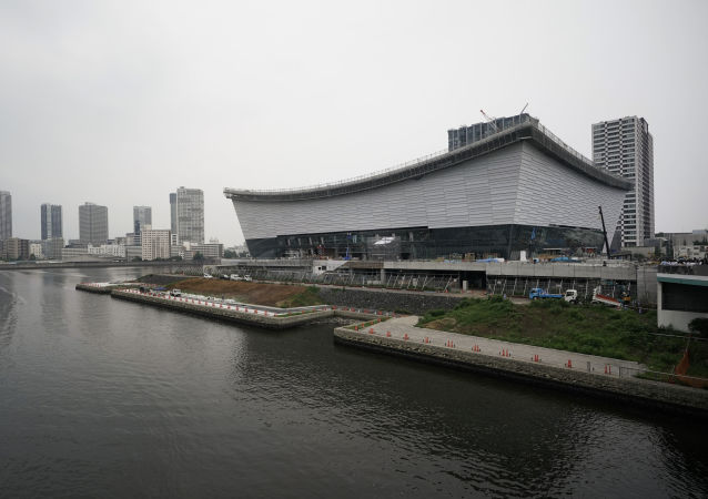 Ariake Arena en Tokio, Japón