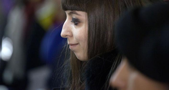Florencia Kirchner, hija de expresidenta argentina Cristina Fernández de Kirchner (archivo)