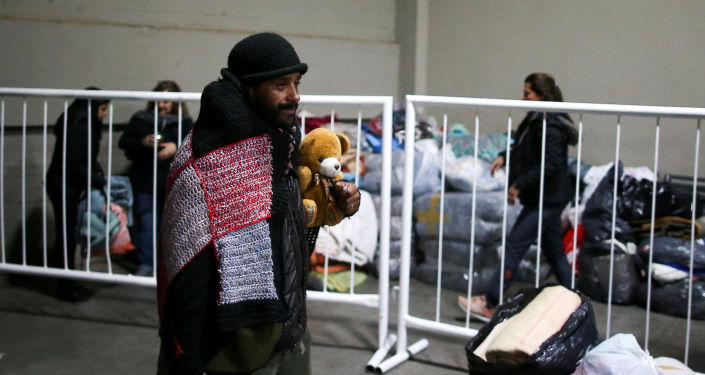 El estadio argentino River Plate refugia a personas en situación de calle