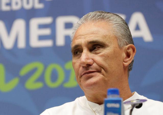 Tite, entrenador de la selección brasileña de fútbol