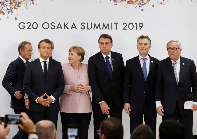 Líderes de la UE y del Mercosur