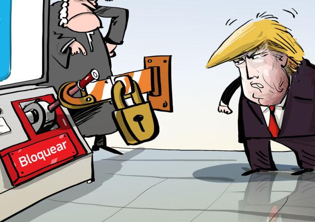 Trump el todopoderoso, pero no en Twitter