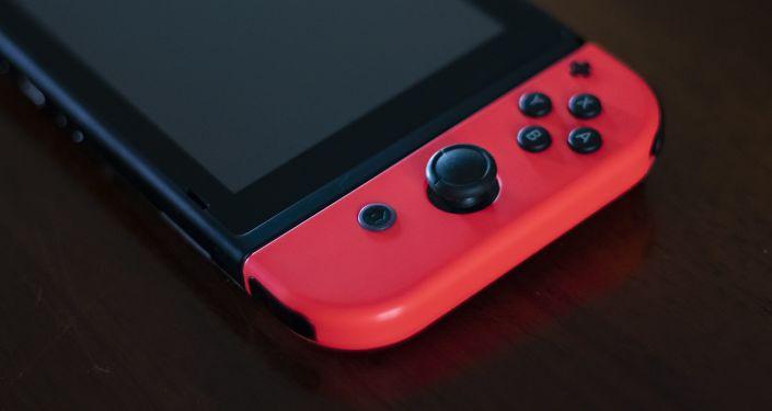 La consola Nintendo Switch, foto de archivo