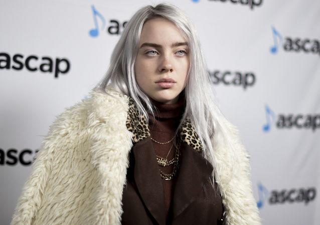 Billie Eilish en los premios ASCAP