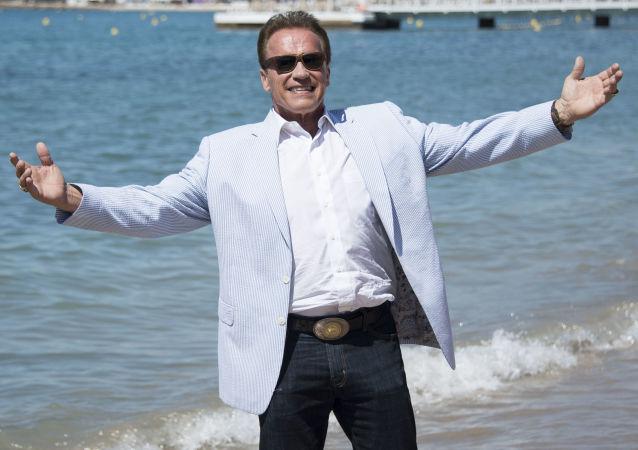 Arnold Schwarzenegger, actor y político estadounidense