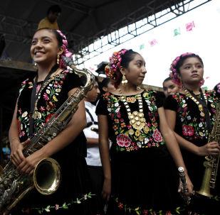 Vestidos bordados en México