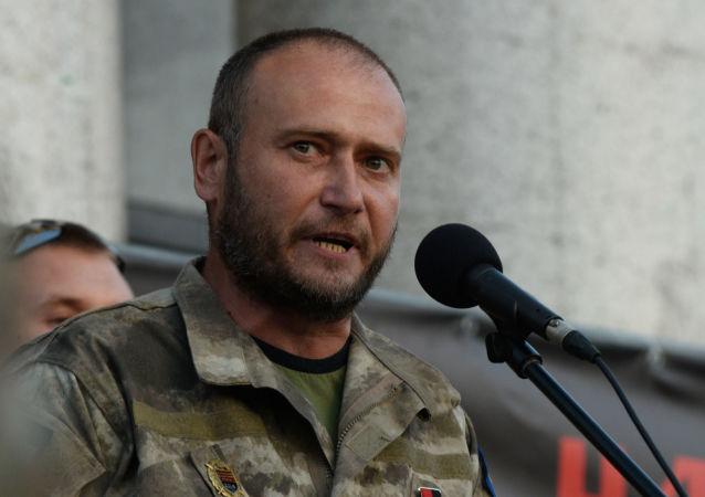 Dmitri Yarosh, líder ultranacionalista ucraniano