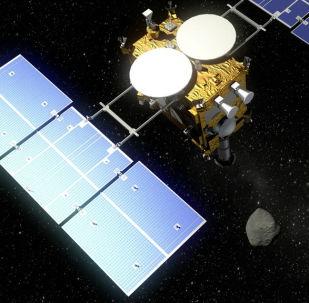Sonda Hayabusa 2, visualización