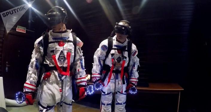 Los cosmonautas en la misión Sirius