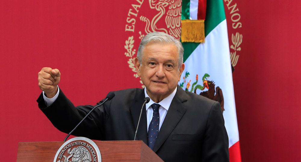 Andrés Manuel López Obrador, el presidente de México (archivo)