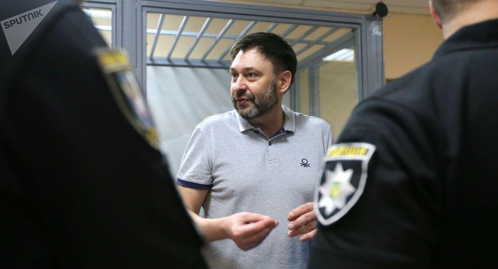 El director del portal RIA Novosti Ukraina, Kiril Vishinski