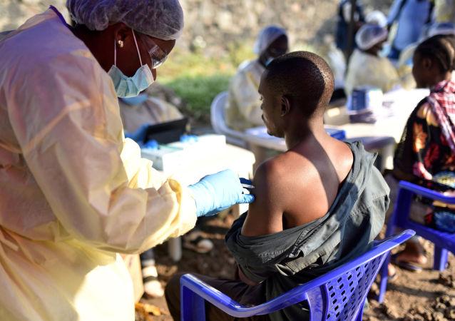 Vacunación contra el ébola en la República Democrática del Congo